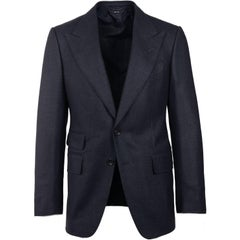 New Tom Ford Men's 100% Wool Shelton Sports Coat Jacket Blazer 48R/38R ret $3750