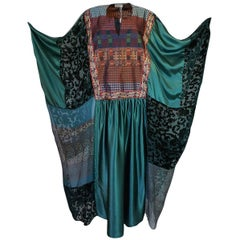 Thea Porter Museum Exhibited Abaya Caftan Dress, circa 1975