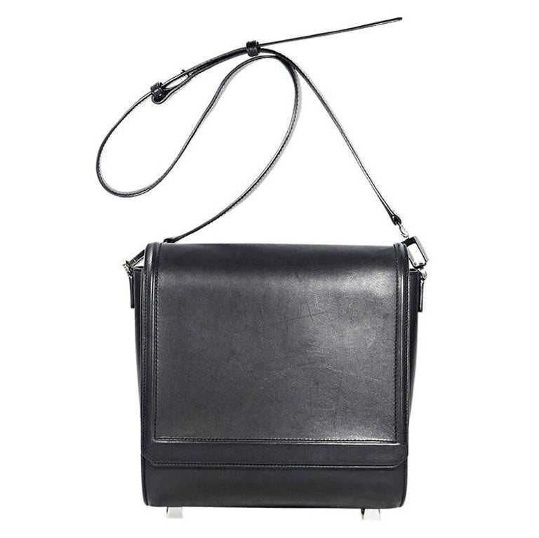 Black Alexander Wang Chastity Messenger Bag