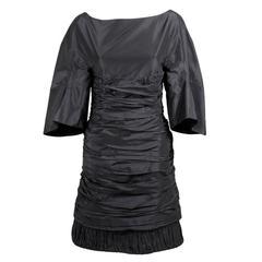 Ralph Rucci Taffeta Cocktail Dress