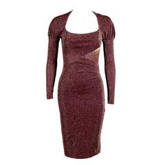 Vivienne Westwood Knit Lurex Dress