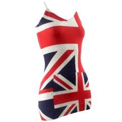 Comme des Garçons 2005 Collection Union Jack Dress