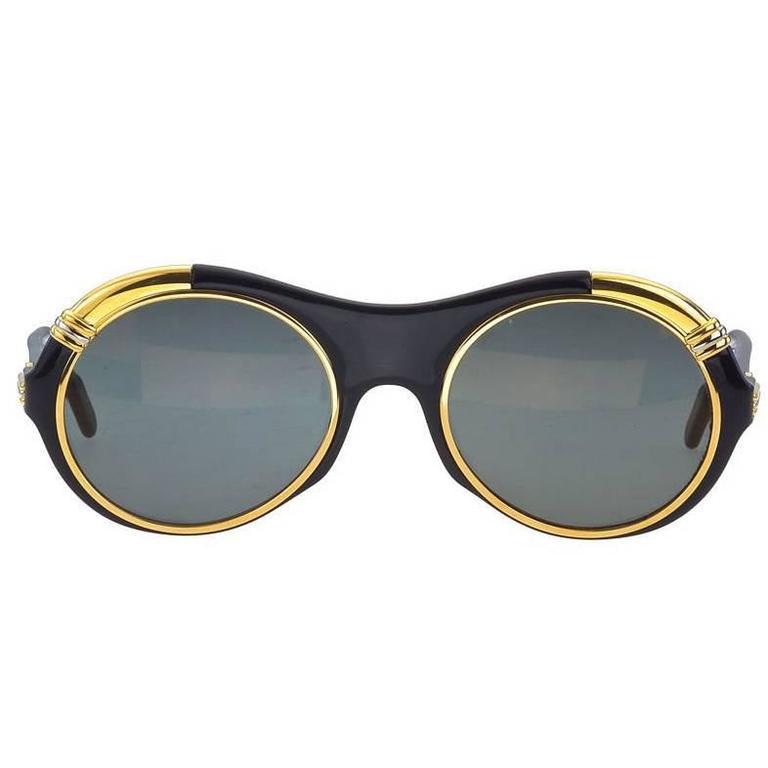 Vintage Cartier Lunette Diablo Sunglasses 1
