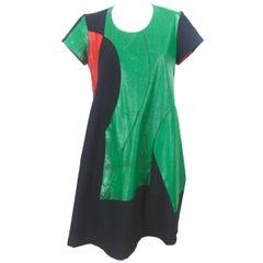 Comme des Garcons Colour Block Dress, 1996 Collection