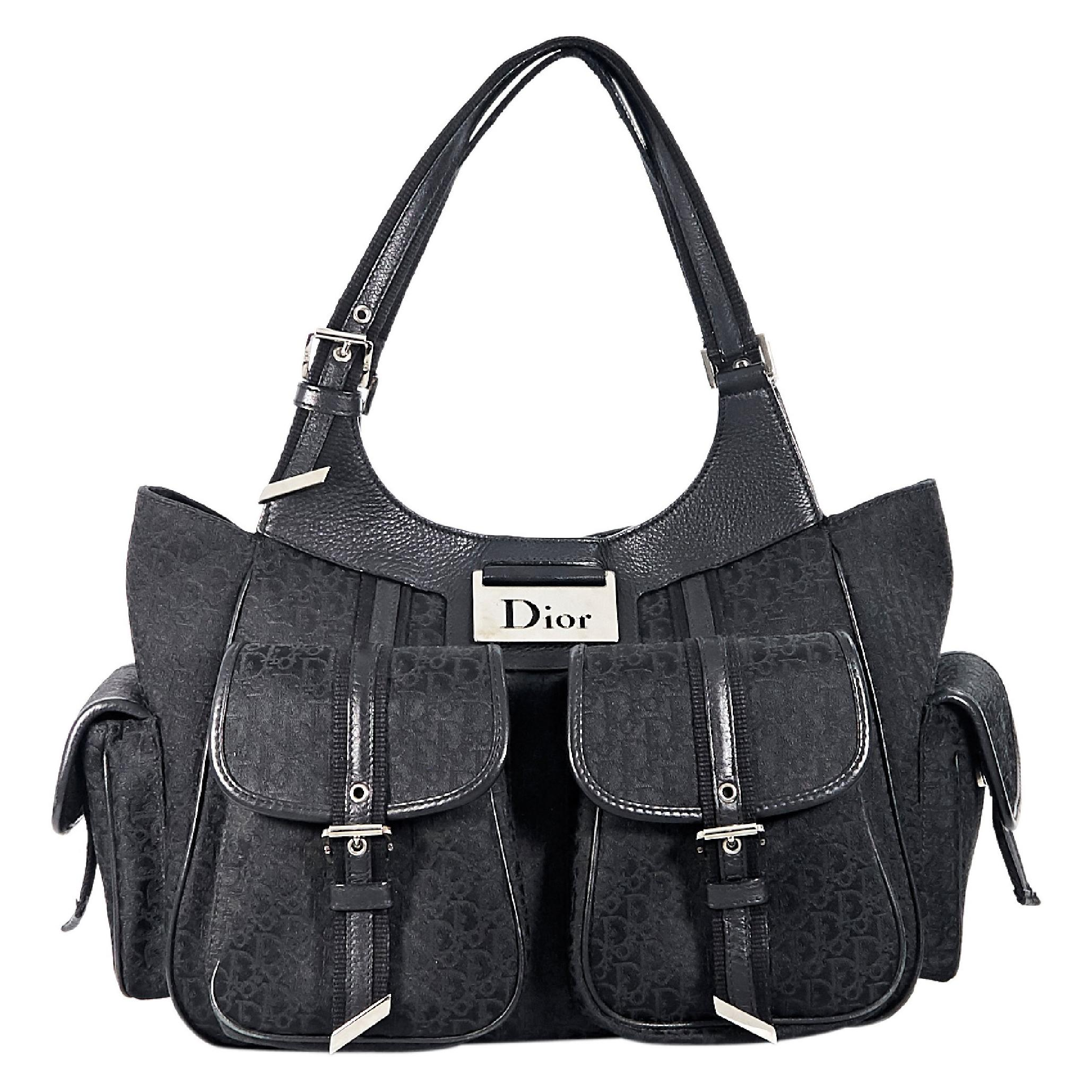Christian Dior Diorissma Black Shoulder Bag For Sale at 1stdibs 124255e7383f0