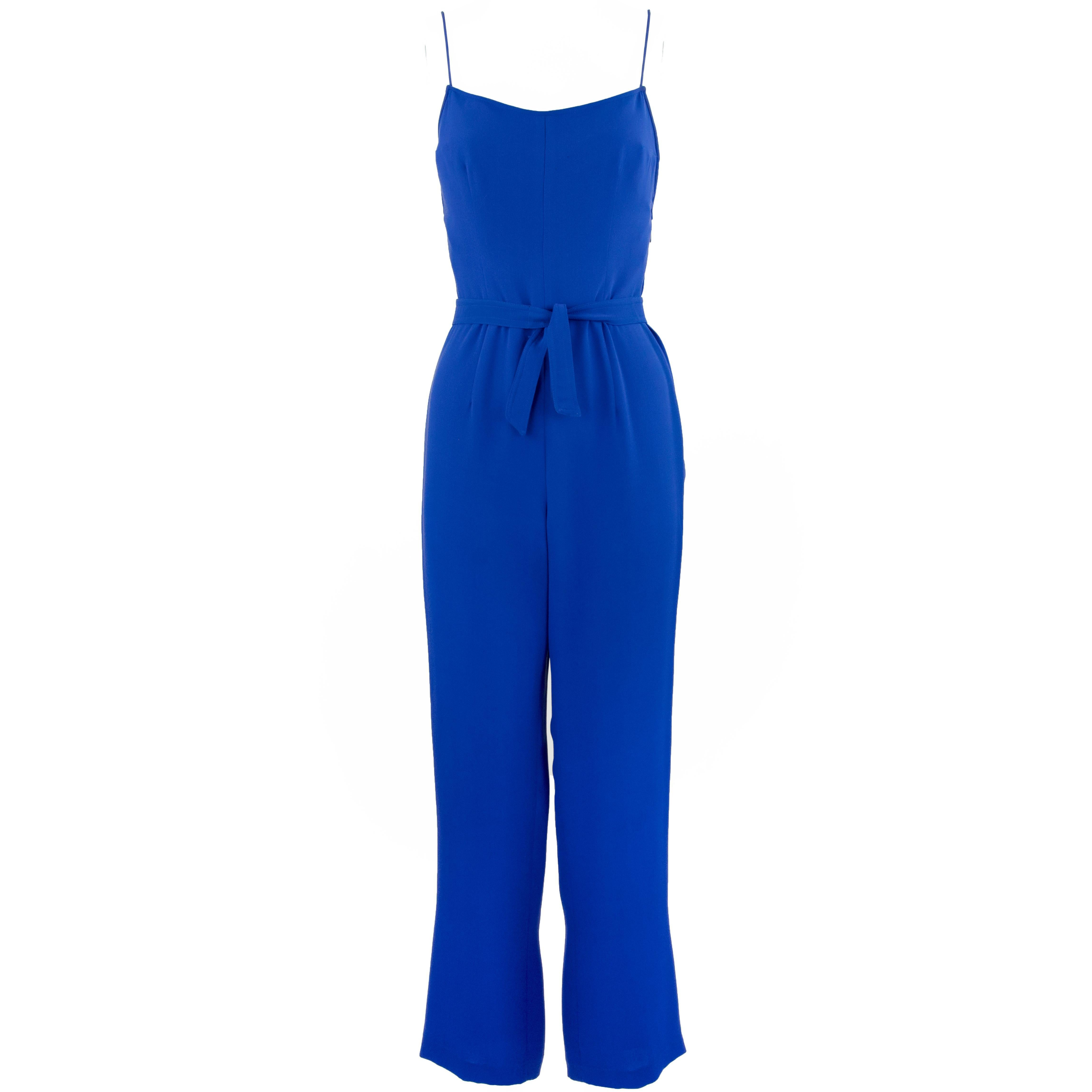 9feb35d57f8 Blue Jumpsuits - 58 For Sale on 1stdibs