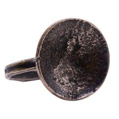 Bronze Lotus Artifact Ring