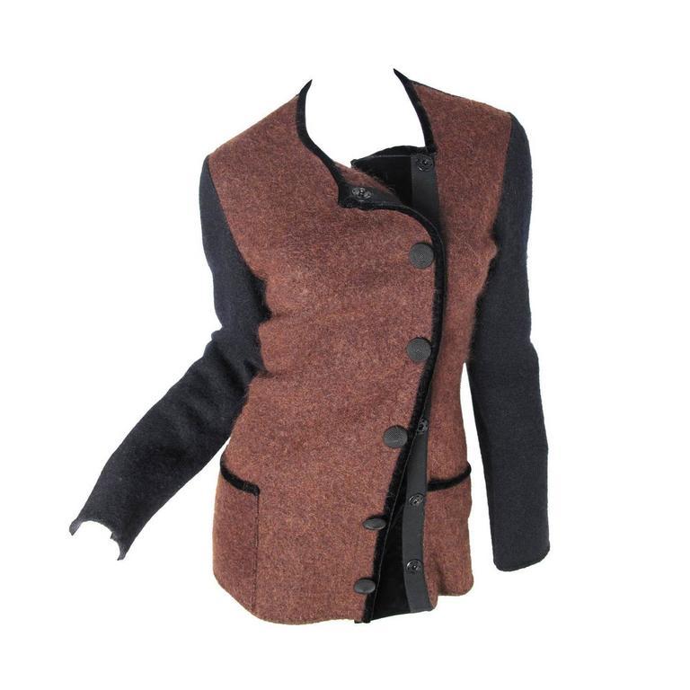 Jean Paul Gaultier Felted Wool Jacket