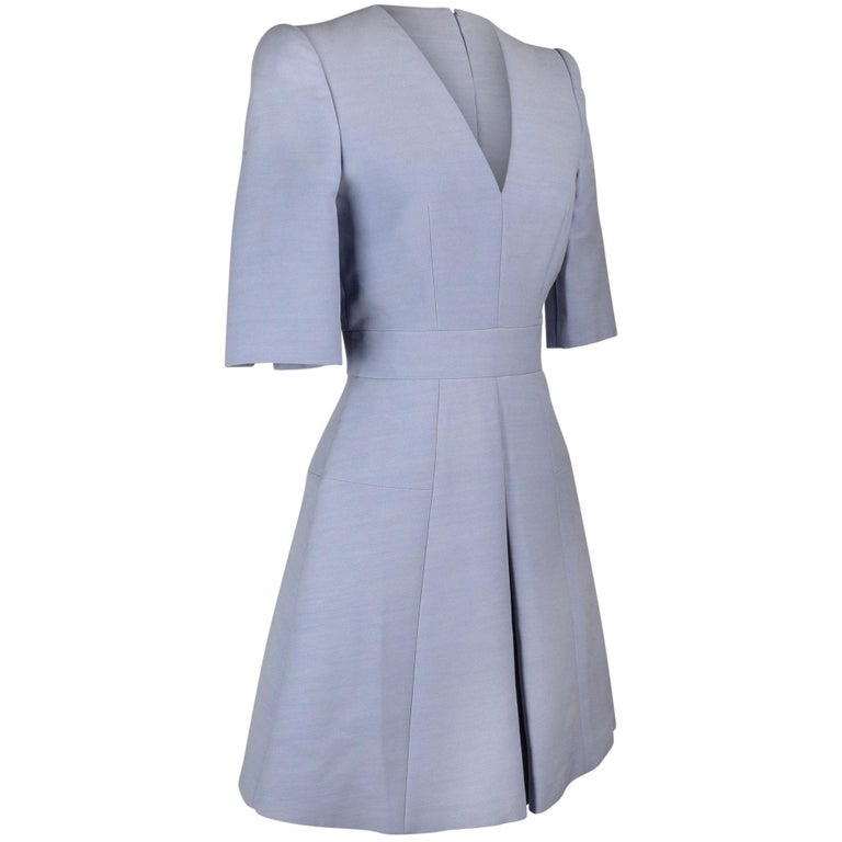 Alexander McQueen Lightest Lavender Dress