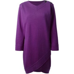 Yves Saint Laurent Purple Dress, 1990s