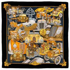 WOW! Hermes Silk Scarf - 'Automobile'
