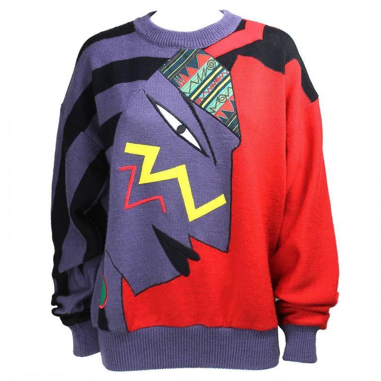 1980s Kansai Yamamoto Sweater 1