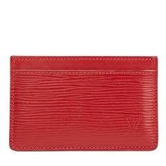 Louis Vuitton Rubis Epi Leather Card Holder, 2013