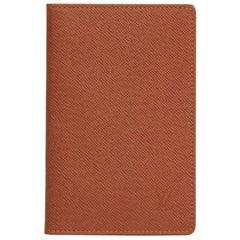 Louis Vuitton Brown Taiga Leather ID Card Holder, 2003