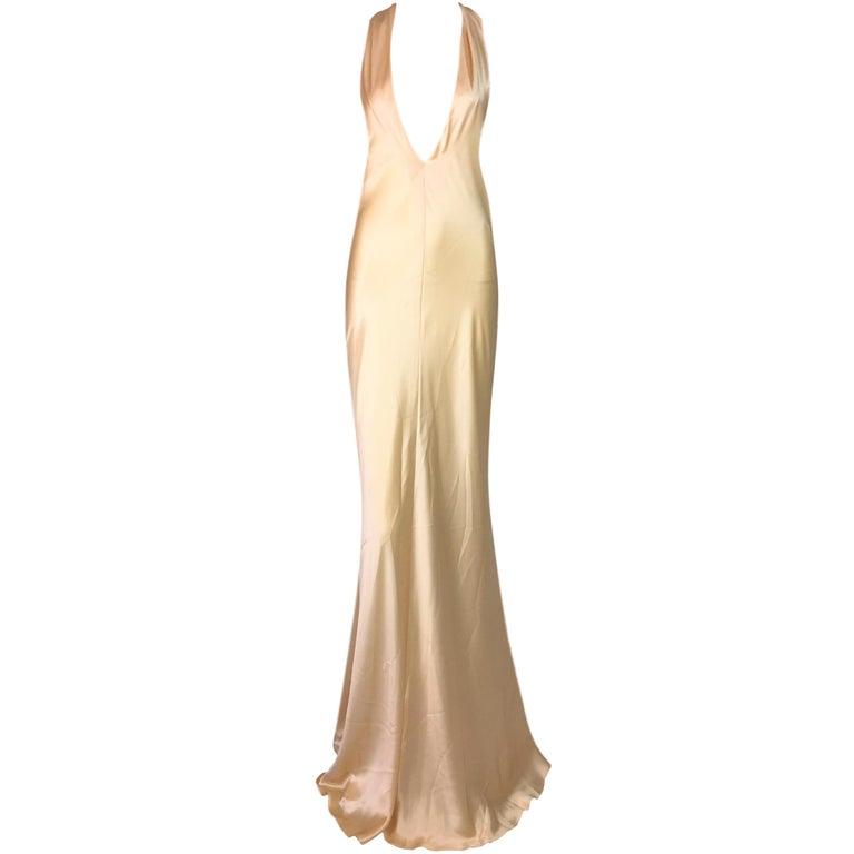 Dolce and Gabbana Blush Corset Dress at 1stdibs