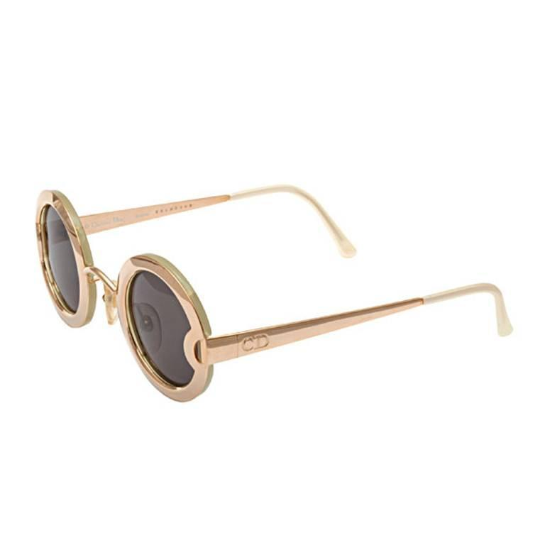 c8765fcf55 Vintage Christian Dior Mother of Pearl Sunglasses 2918 at 1stdibs