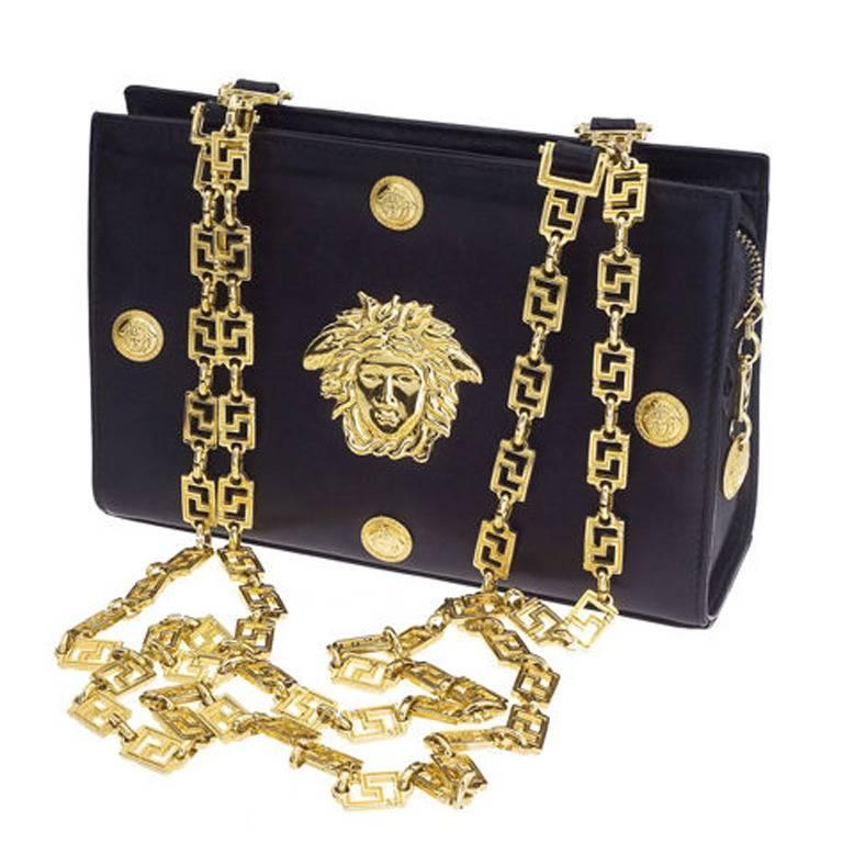 Gianni Versace Couture chain bag with Medusa 1