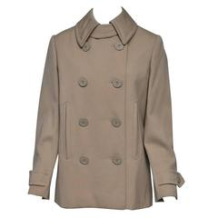 Bill Blass 1970s Pea Coat