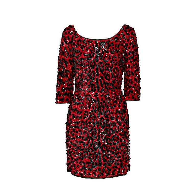 Dress for Women, Evening Cocktail Party On Sale, Red, Silk, 2017, 8 Dolce & Gabbana
