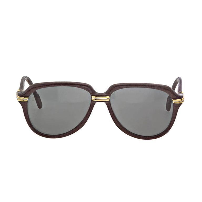 Vintage Cartier Vitesse Sunglasses