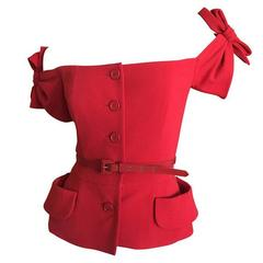 """Christian Dior by John Galliano  """"Eva"""" Jacket 2011 Size 42"""