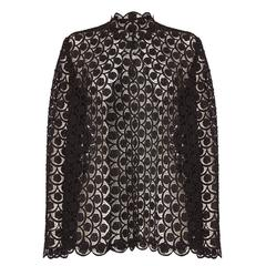 1960s Black Lace Jacket