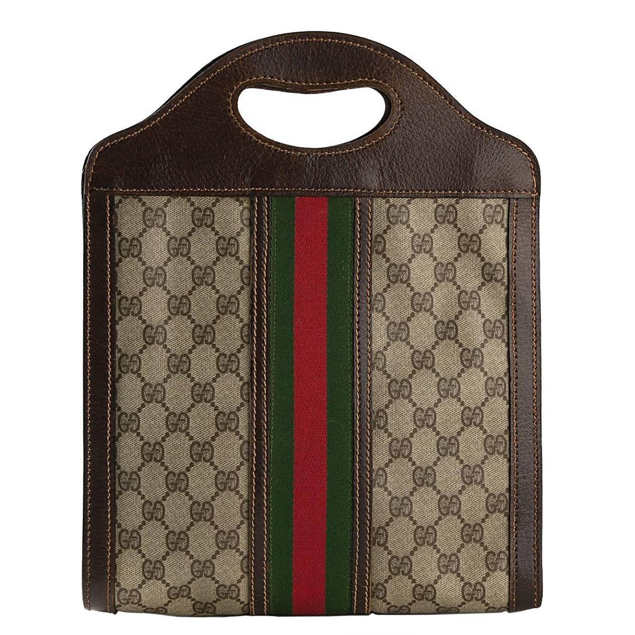 1970s Gucci Tote Bag At 1stdibs