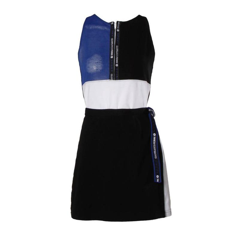 Gianfranco Ferre Vintage Sporty Color Block 2-Piece Skirt + Top Ensemble