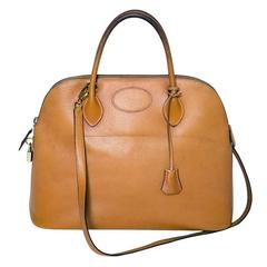 1993s Hermès Bolide Gold Bag 37cm