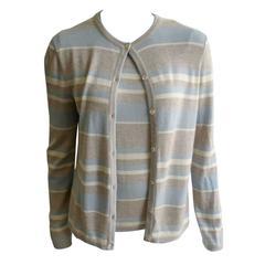 Bill Blass 70s Cashmere Cardigan Set Size 4.