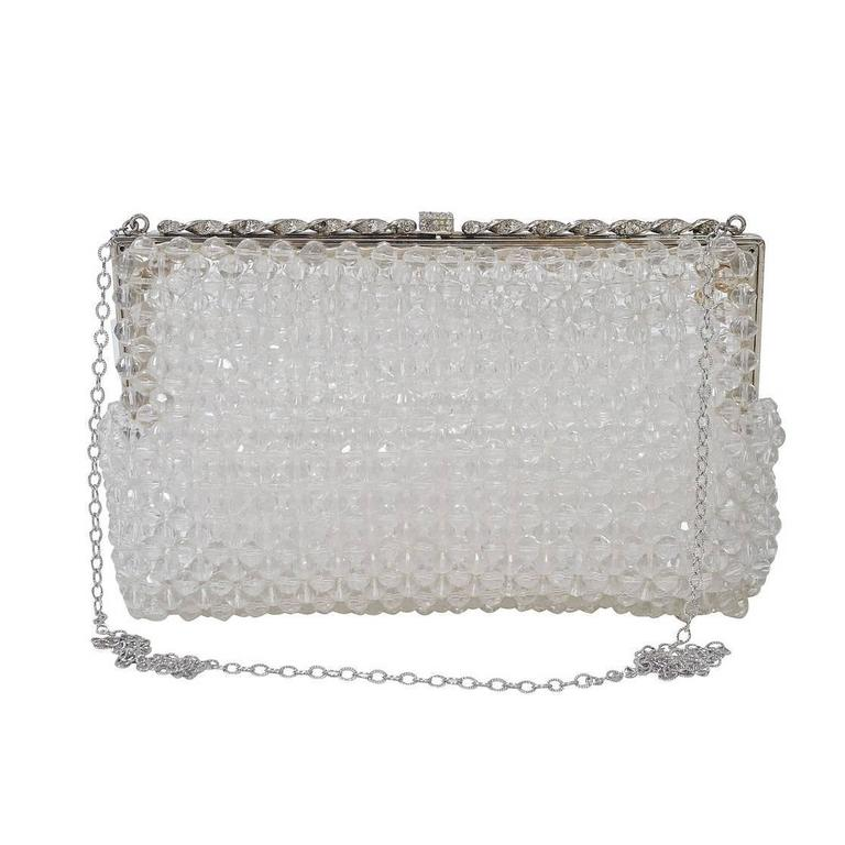 Crystal Bead Shoulder Bag