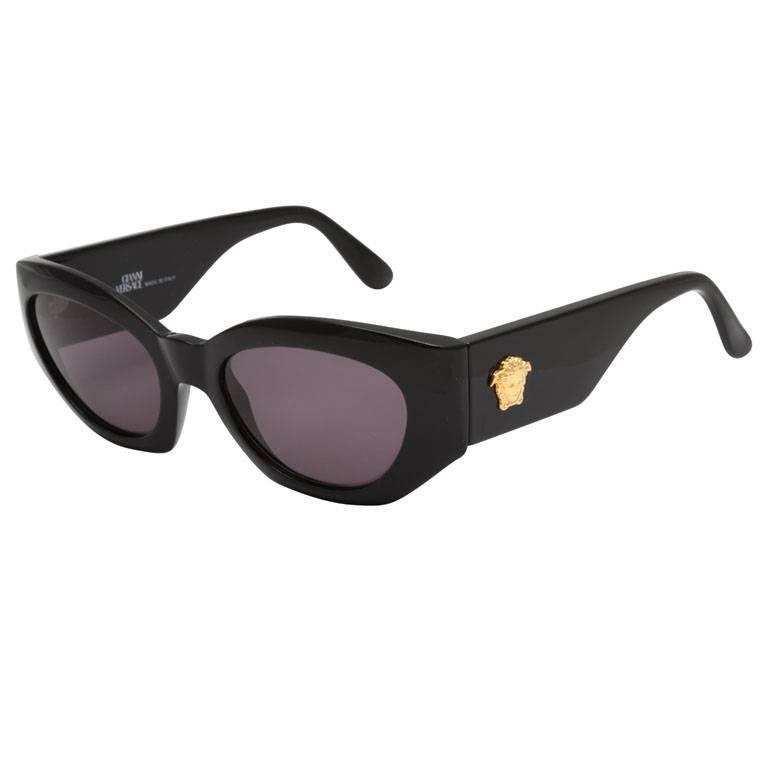 Versace Sunglasses Purple  versace sunglasses mod 420 col 852 for at 1stdibs