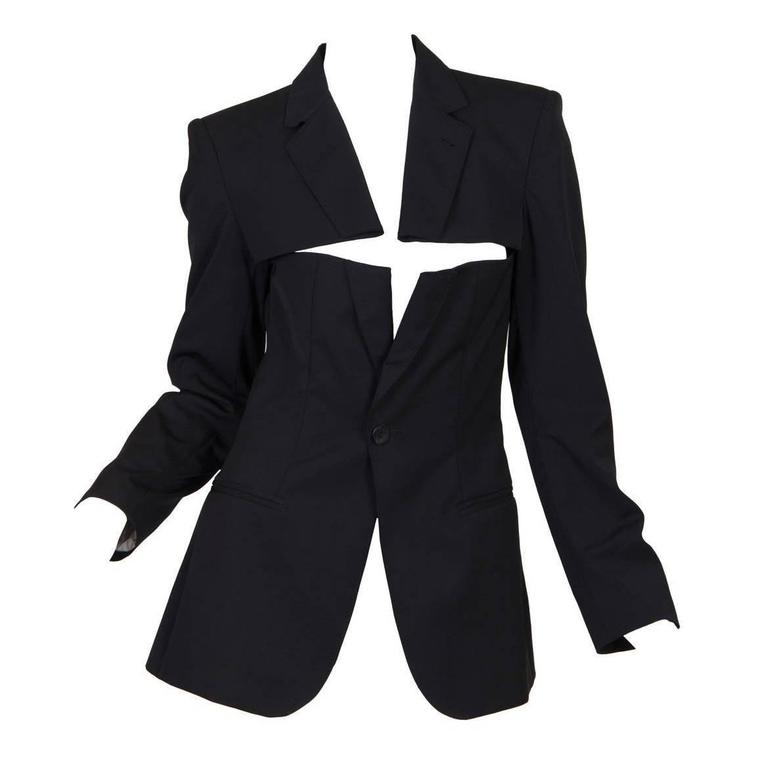 Jean Paul Gaultier Slashed Blazer 1