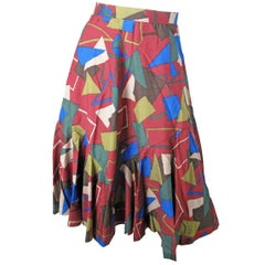 Christian Dior Patterned Skirt