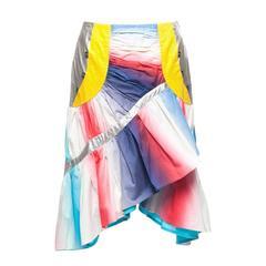 Issey Miyake 90's irregular Multi Fabrics skirt, Sz.10