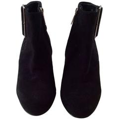 Black Christian Dior Ankle Boots - Size 7