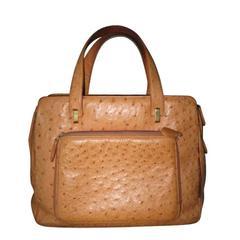 Suarez NY Ostrich Bag