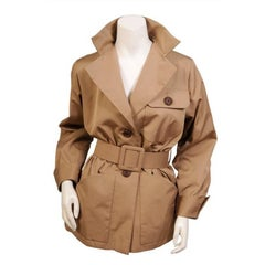 Yves Saint Laurent Numbered  Haute Couture Safari Jacket