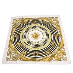 Fantastic Hermes Astrological Silk Square Scarf