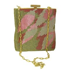 1960s Pierre Cardin Beaded Bag