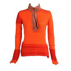 Vivienne Westwood Orange & Red Sweater, Never Worn
