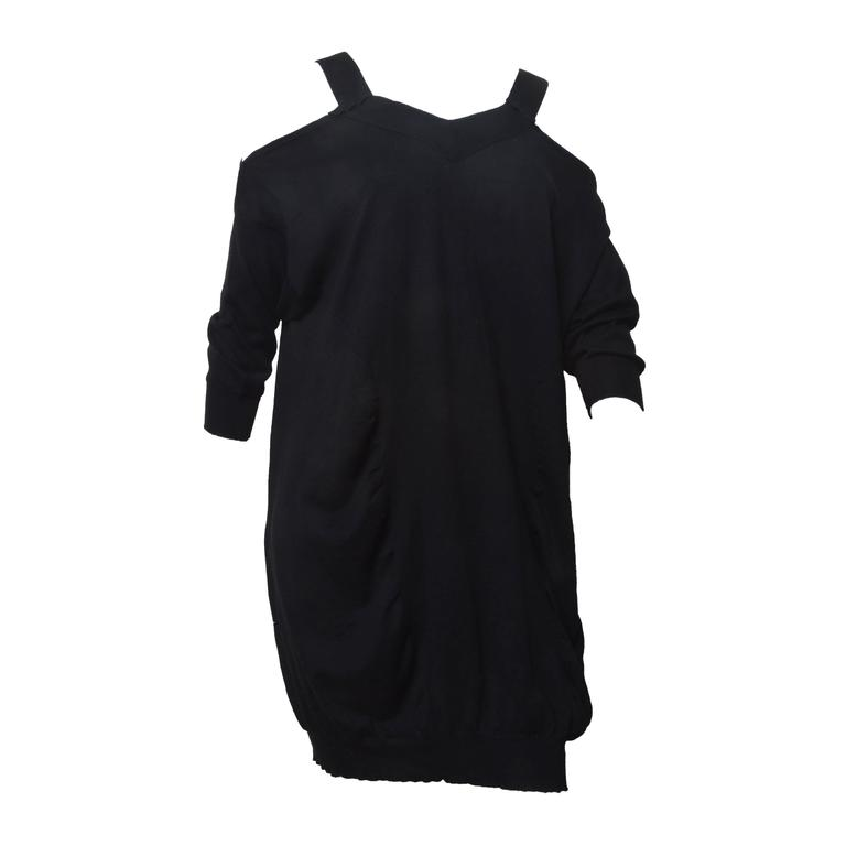 Miu Miu Slouchy Cut Out Sweater Dress