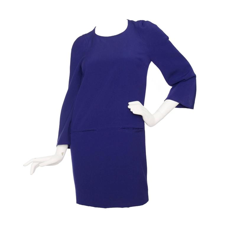Purple Christian Lacroix 1990s Tunic Dress For Sale