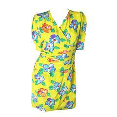 Ungaro Floral Dress