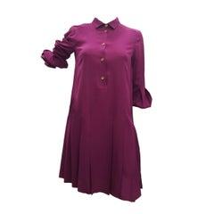 1980s Gucci Purple Dress by Alessandra Facchinetti