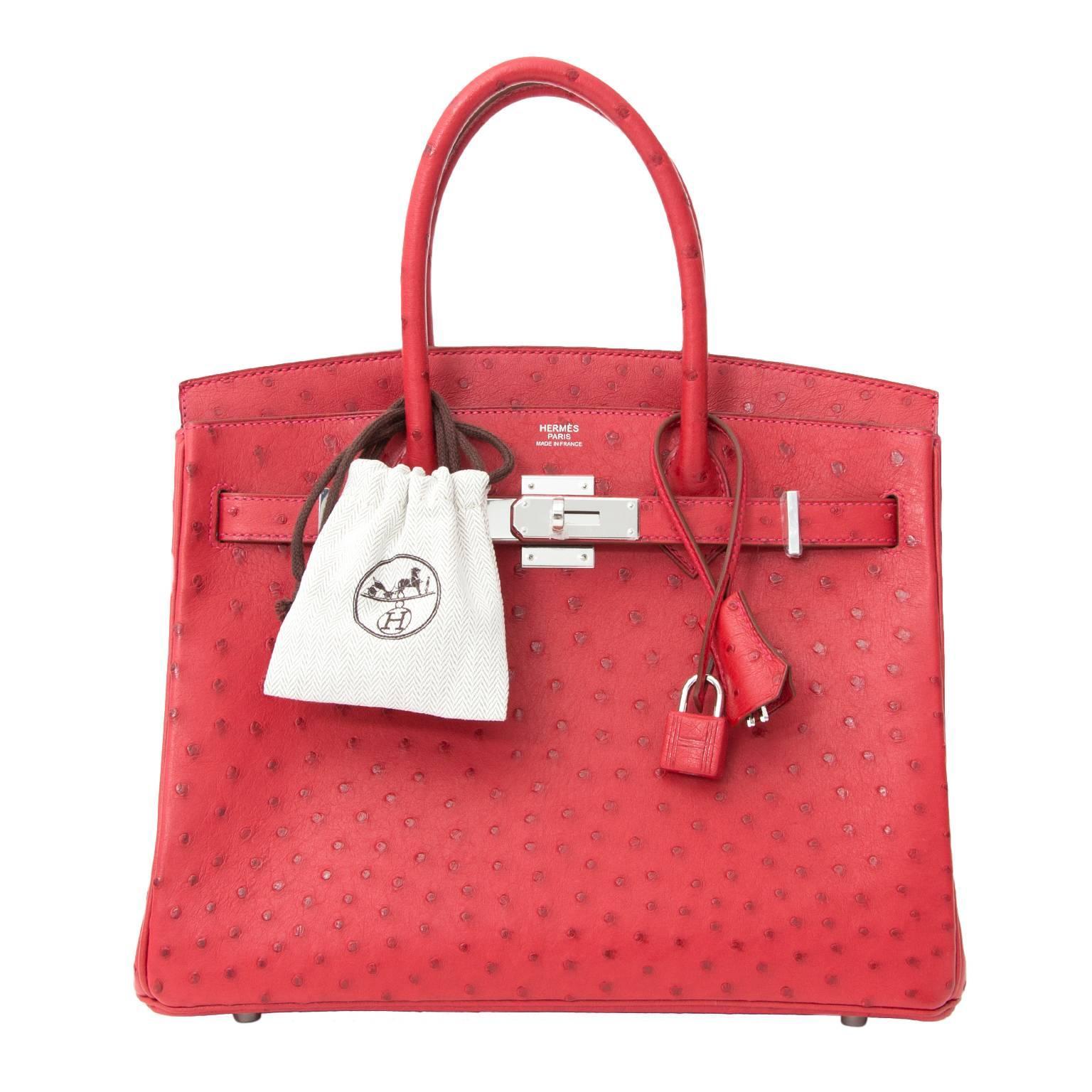 Hermes Birkin Ostrich Bags - 21 For Sale on 1stdibs 546d13fadc413