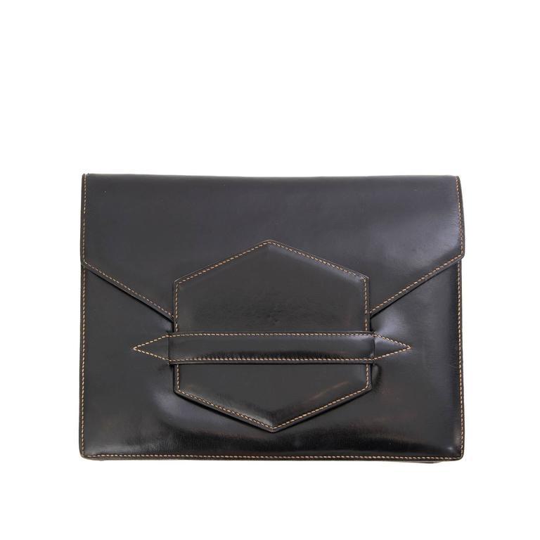 Hermès Faco Clutch Bag For Sale