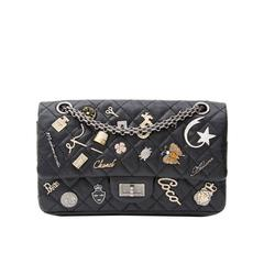 Rare Chanel Lucky Charm 2.55 Reissue Double Flap Bag 225