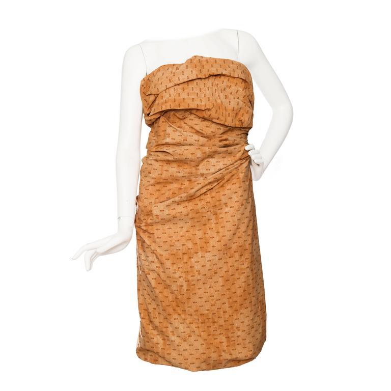 Bottega Veneta Hand Dyed Cotton Dess