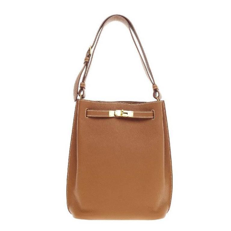 ... bag silver buckle lock buy hermes so kelly togo 22 for sale 86875 d9332  ... ca6e3217d4bec